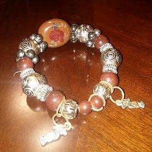 Jewelry - Women's Beaded Stretch Bracelet